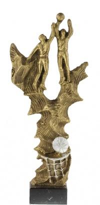 TROFEO DE BALONCESTO MODELO 1410 - 34 CM