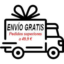 ENVÍOS GRATIS + 49,9€ (Península)