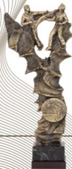 LOTE 3 TROFEOS KARATE/TAEKWONDO REALIZADOS EN RESINA DE ALTA CALIDAD IDEALES PARA KATA/PUMSE