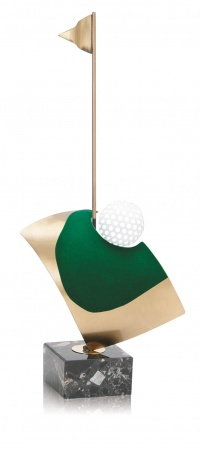TROFEO DE GOLF MODELO GREEN 37 CM